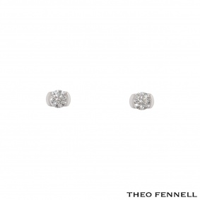Theo Fennell White Gold Diamond Stud Earrings 0.50ct G/VS1